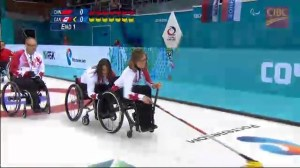 Canada comes from behind for curling win at Paralympics